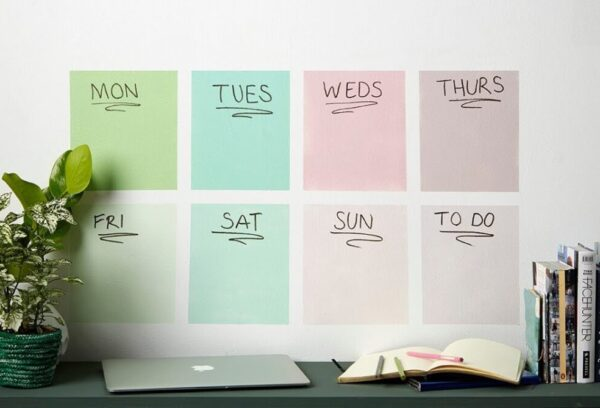 How to create a DIY schedule