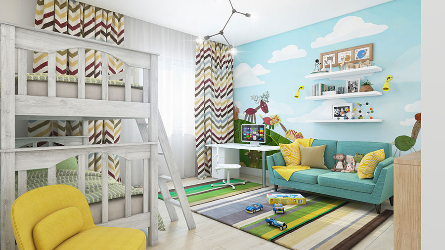 Wall decorations for children's bedrooms n.02