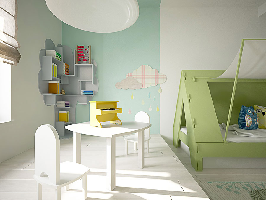 Wall decorations for children's bedrooms n.12