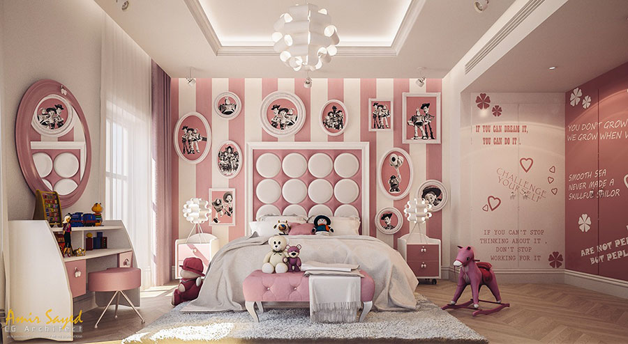 Wall decorations for children's bedrooms n.10