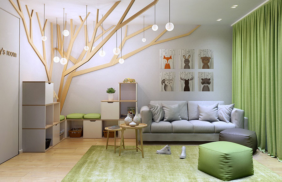 Wall decorations for children's bedrooms n.13