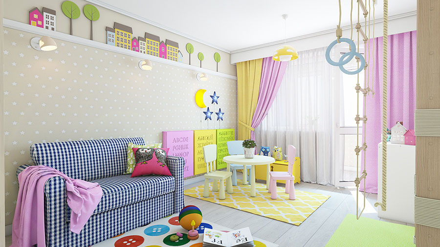 Wall decorations for children's bedrooms n.04