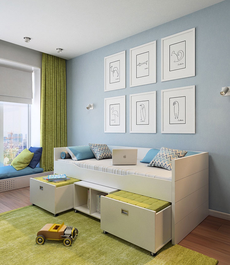 Wall decorations for children's bedrooms n.16