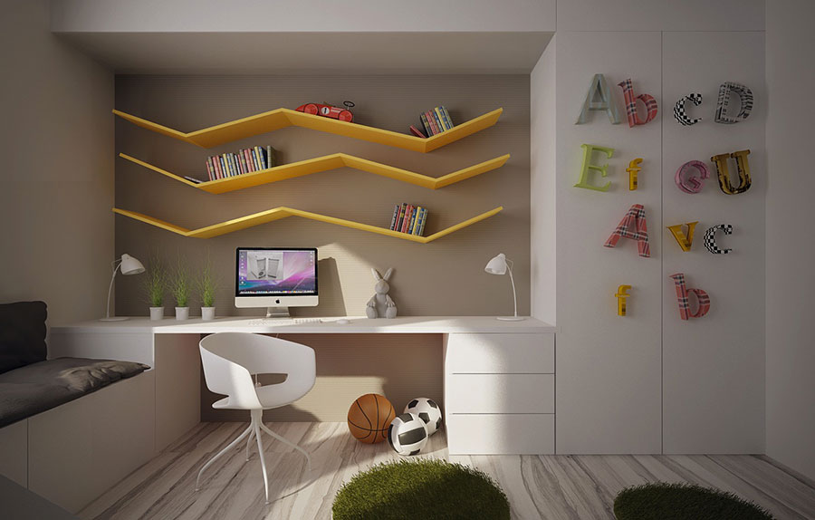 Wall decorations for children's bedrooms n.11