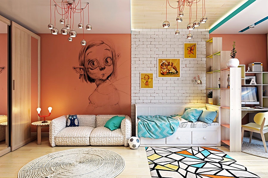Wall decorations for children's bedrooms n.06