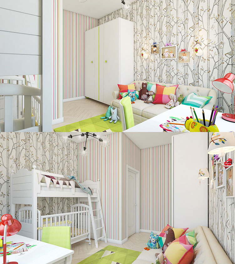 Wall decorations for children's bedrooms n.03