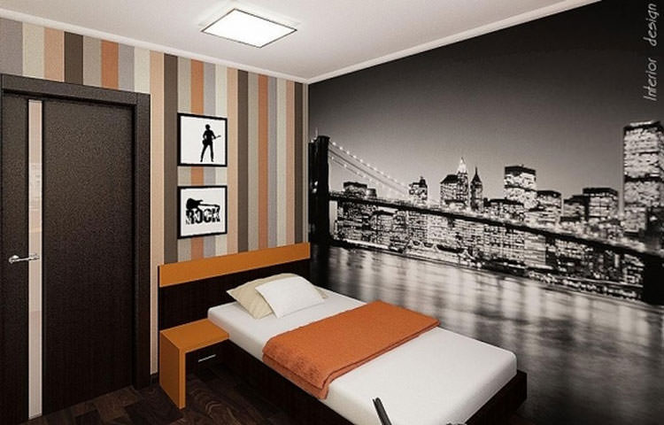 Kids bedroom with wall decorations n.14