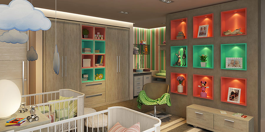 Wall decorations for children's bedrooms n.22