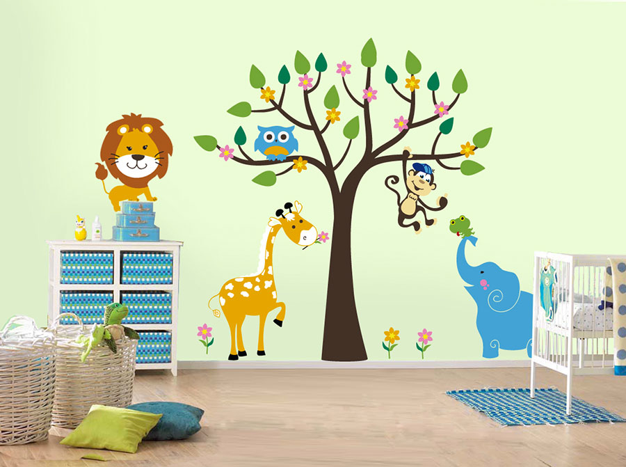 Wall decorations for children's bedrooms n.23