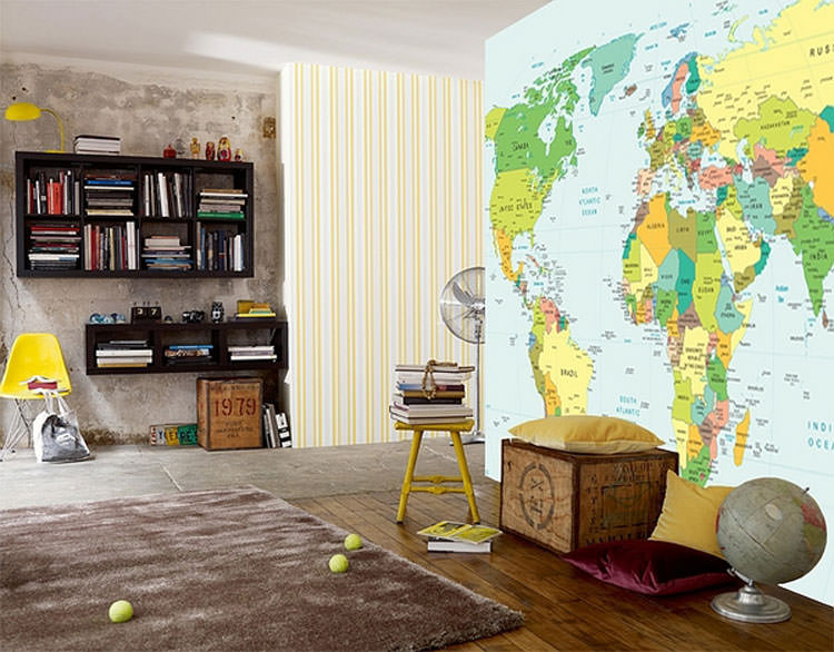 Kids bedroom with wall decorations n.21