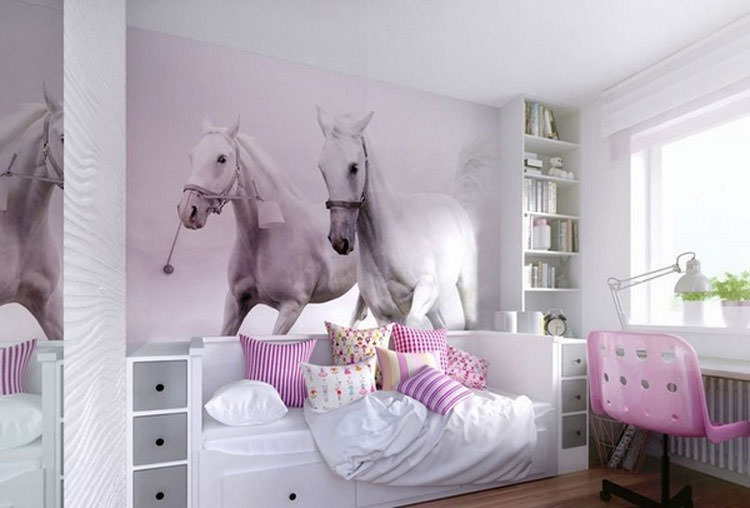 Kids bedroom with wall decorations n.25