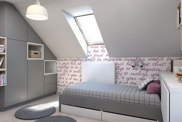 Kids bedroom with wall decorations n.29