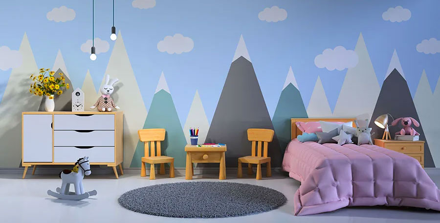 Come decorare le pareti di una cameretta