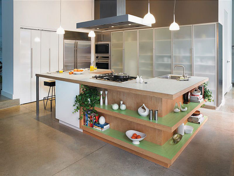 Kitchen model with open island n.01