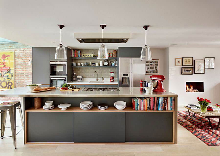 Kitchen model with open island n.05