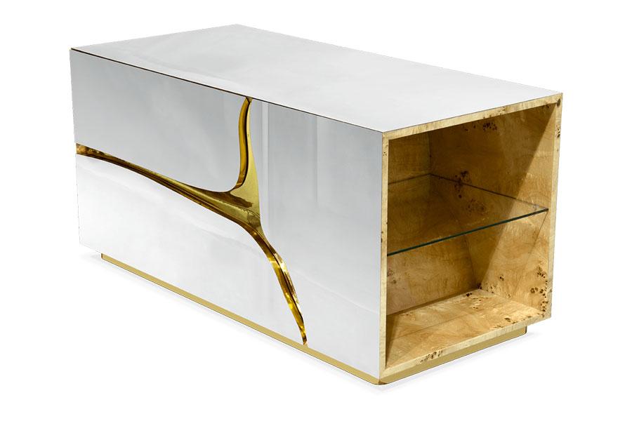 Lapiaz model design bedside table by Boca Do Lobo