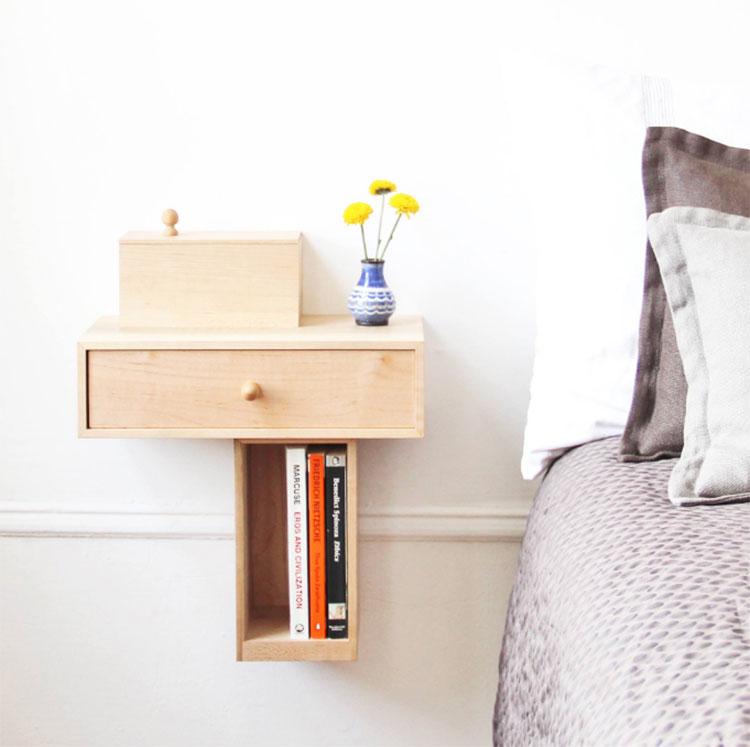 Bedside Console model design bedside table by Pelle Design