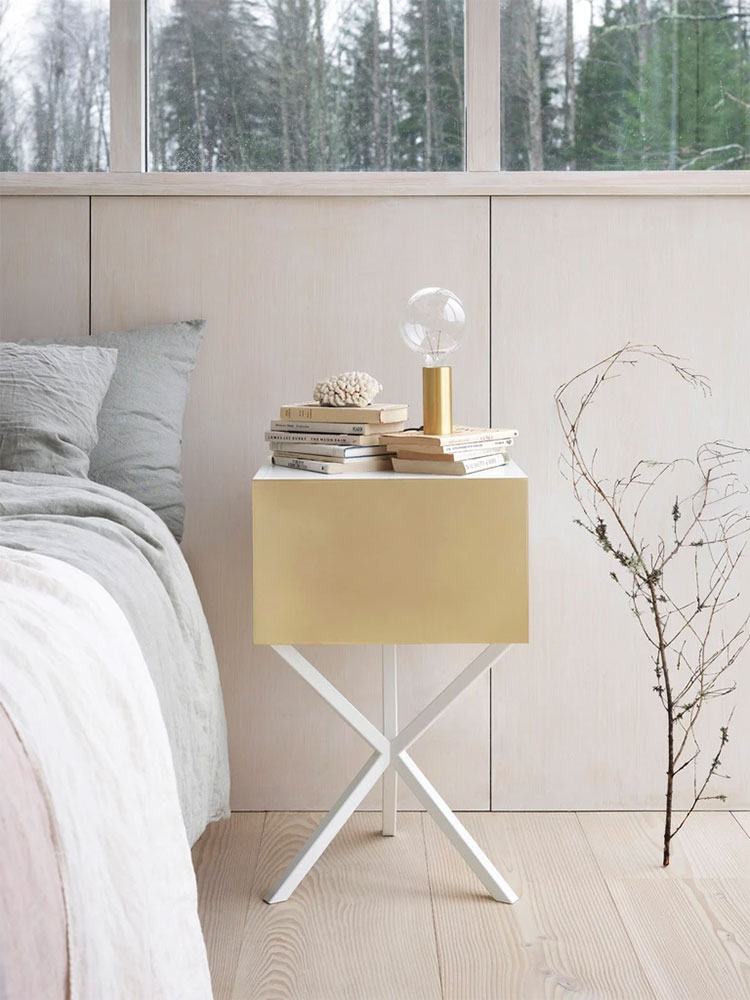 NEB model design bedside table by No Early Birds
