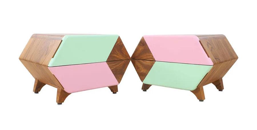 Special design bedside table models
