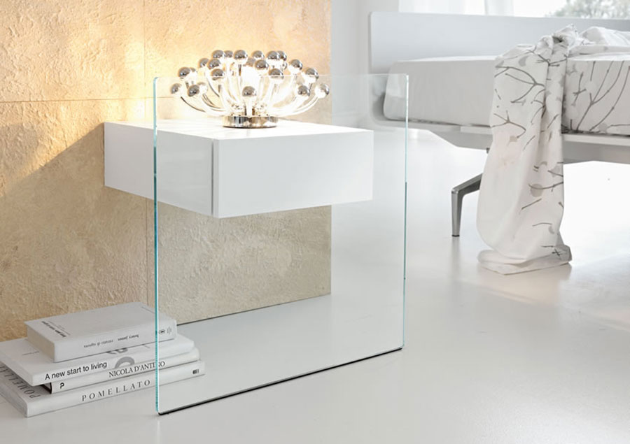 Do-Mo design bedside table by Tonelli Design