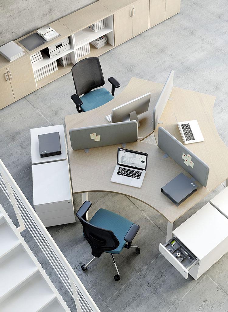 Ideas for furnishing a modern office n.12
