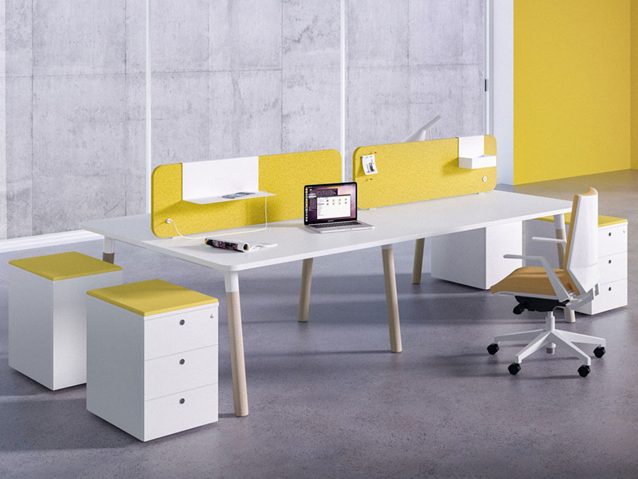 Ideas for furnishing a modern office n.14