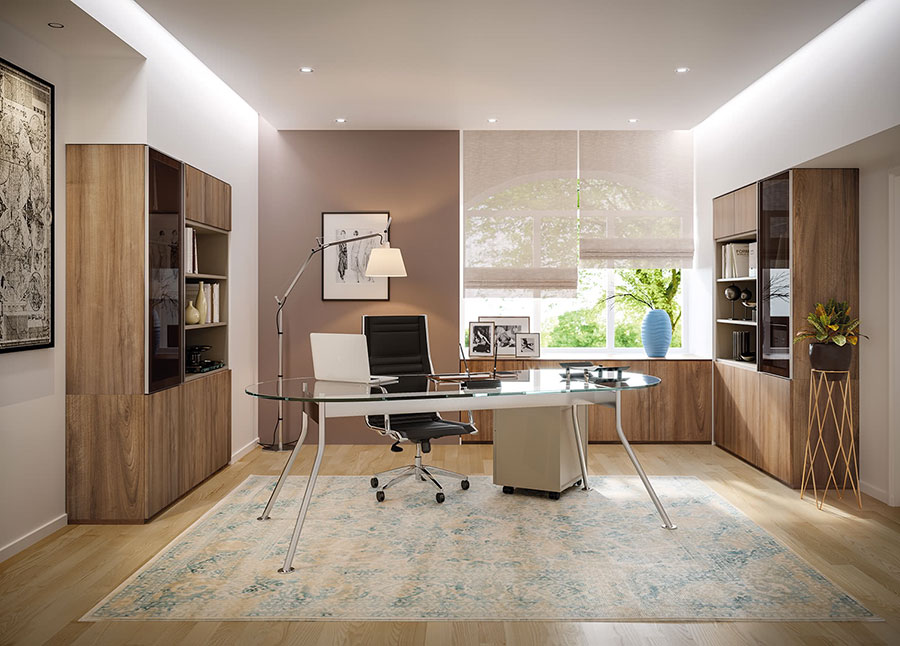 Ideas for furnishing a modern executive office n.04