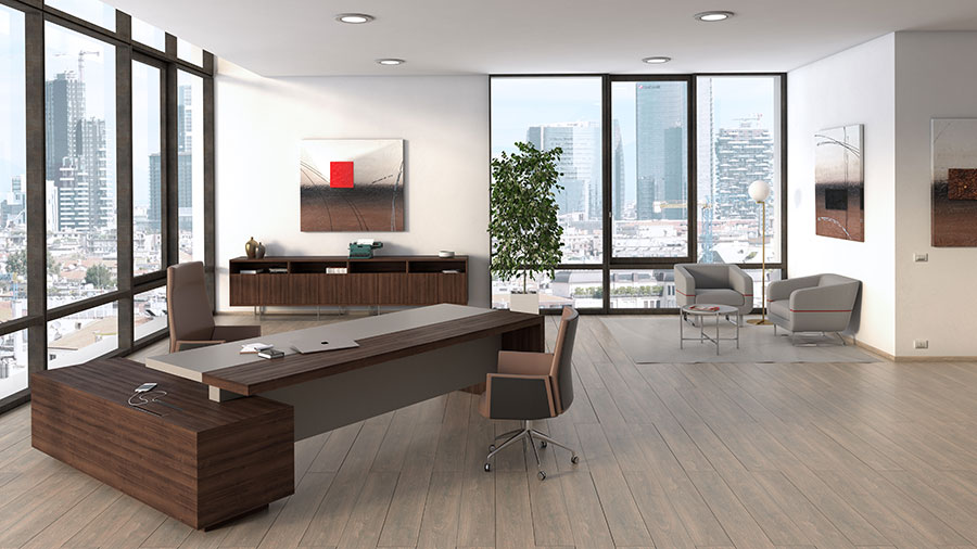Ideas for furnishing a modern executive office n.05