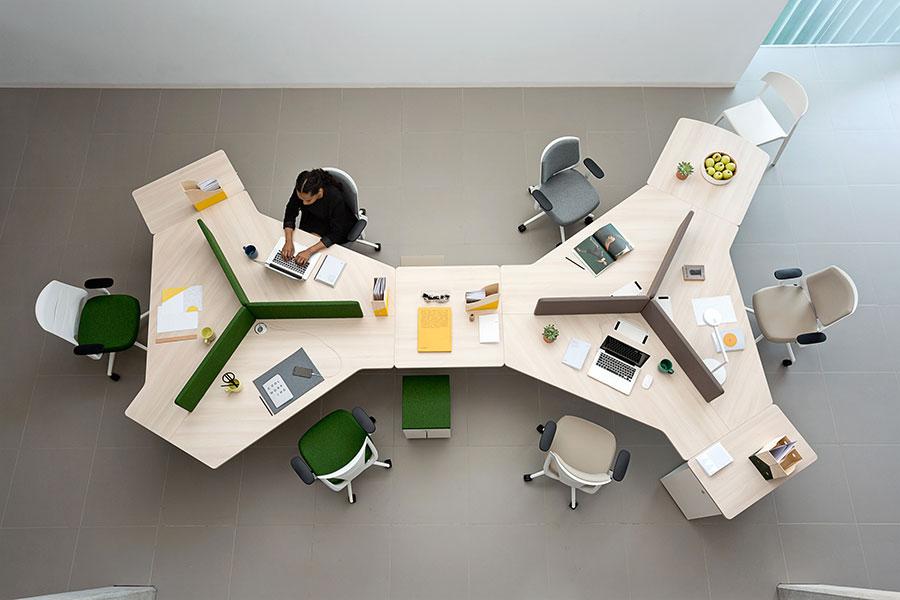 Ideas for furnishing a modern office n.16