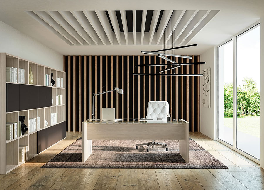 Ideas for furnishing a modern executive office n.03