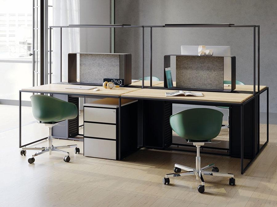 Ideas for furnishing a modern office n.15