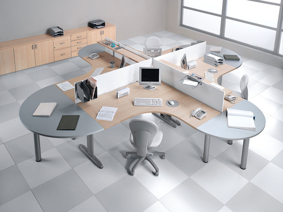 Ideas for furnishing a modern office n.08