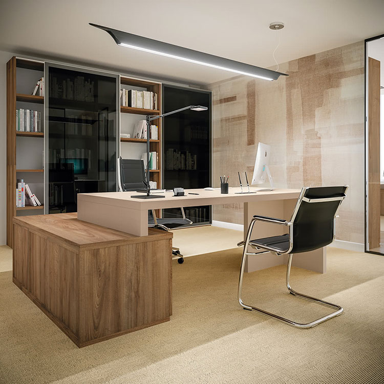 Ideas for furnishing a modern executive office n.01