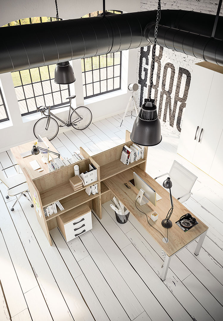 Ideas for furnishing a modern office n.18