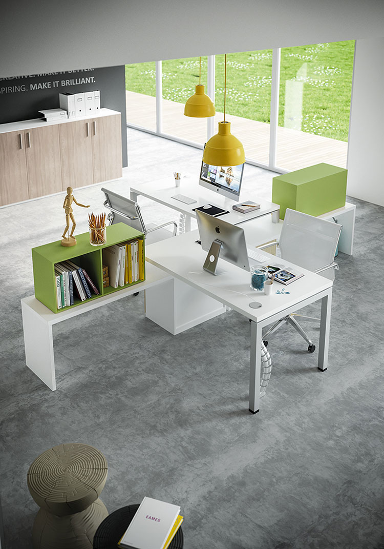 Ideas for furnishing a modern office n.17