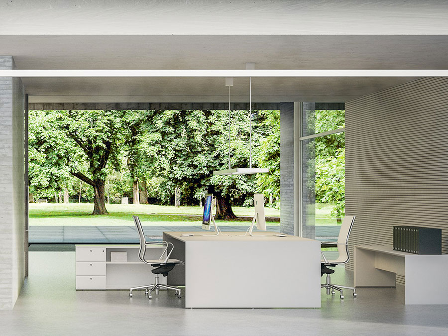 Ideas for furnishing a modern office n.13