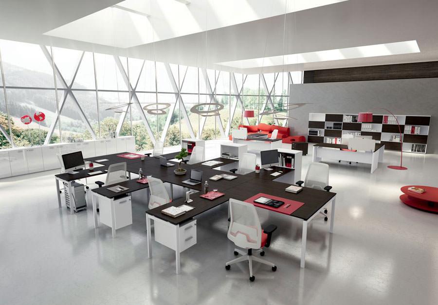 Modern design office furniture ideas # 16