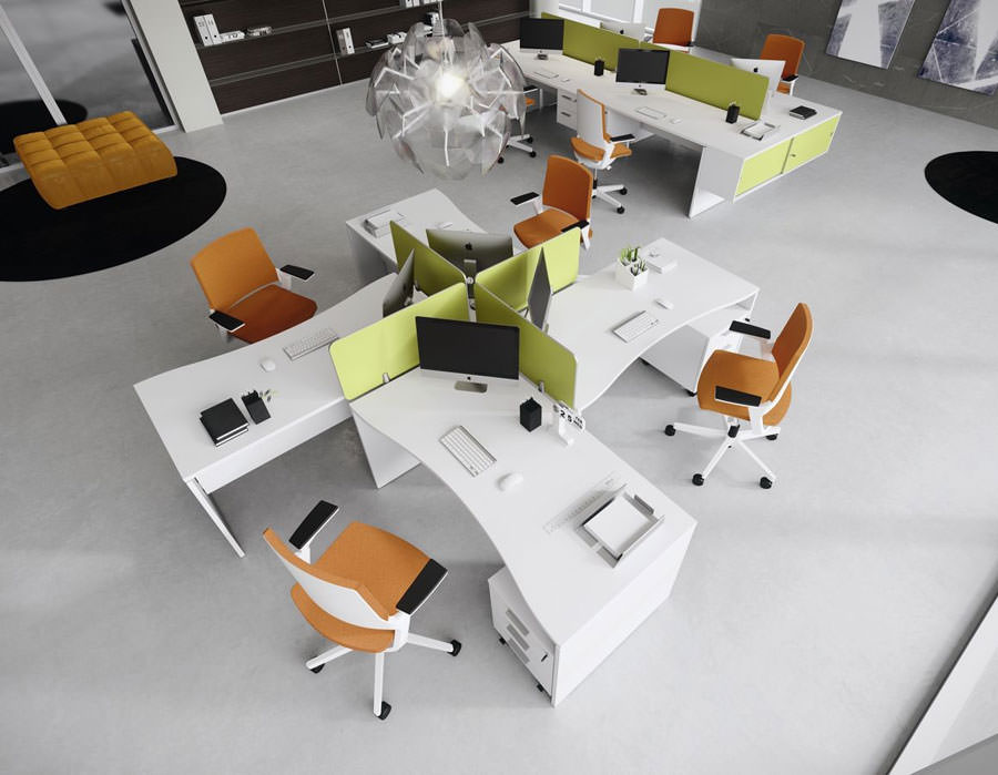 Modern design office furniture ideas # 20