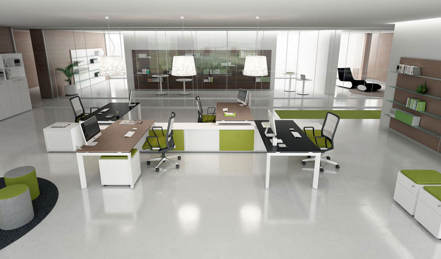 Modern design office furniture ideas # 15