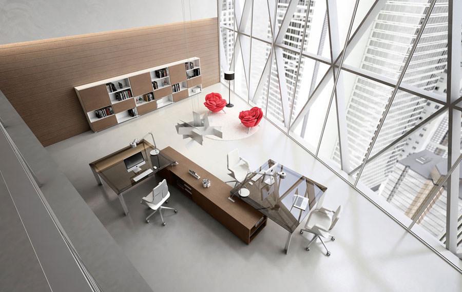Modern design office furniture ideas # 12