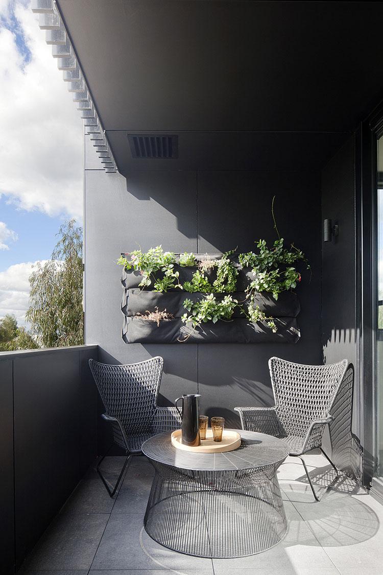 Original balcony furniture ideas n.01
