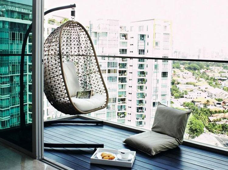 Original balcony furniture ideas n.03