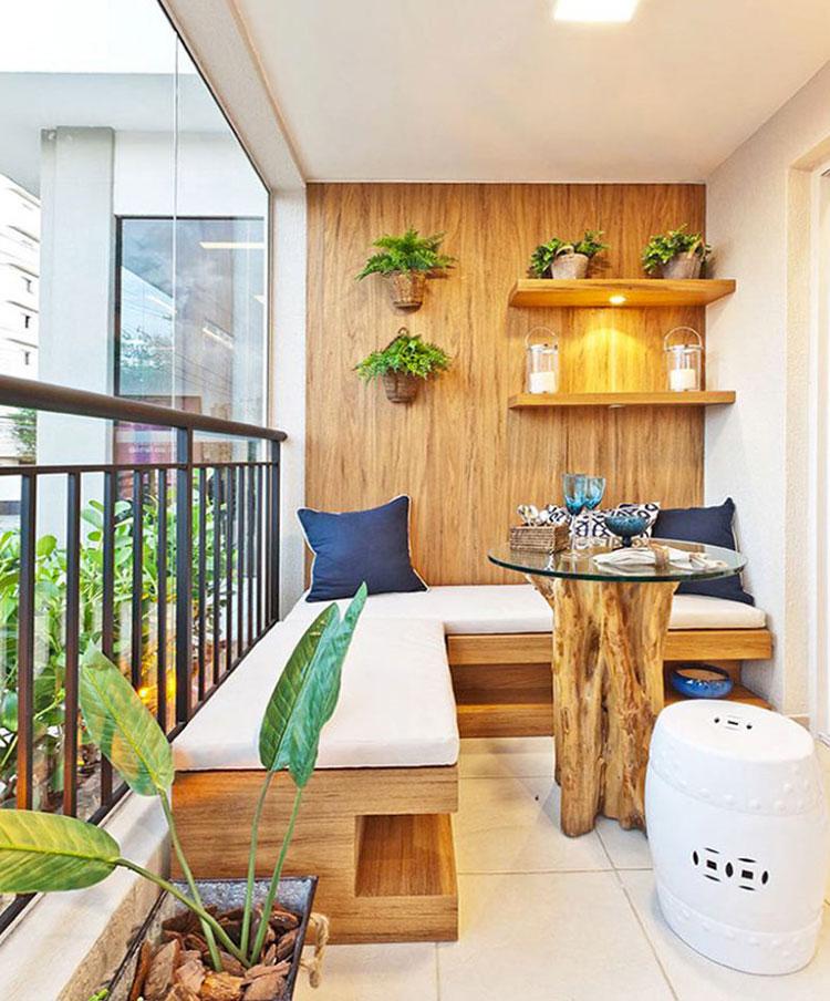 Original balcony furniture ideas n.04