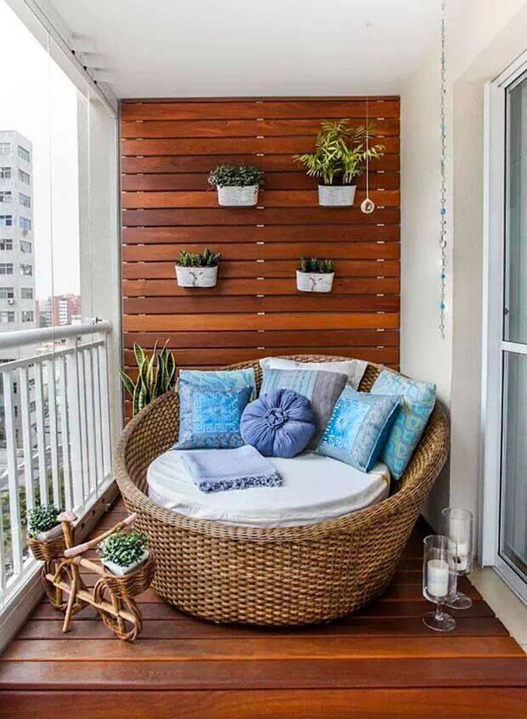 Original balcony furniture ideas # 02