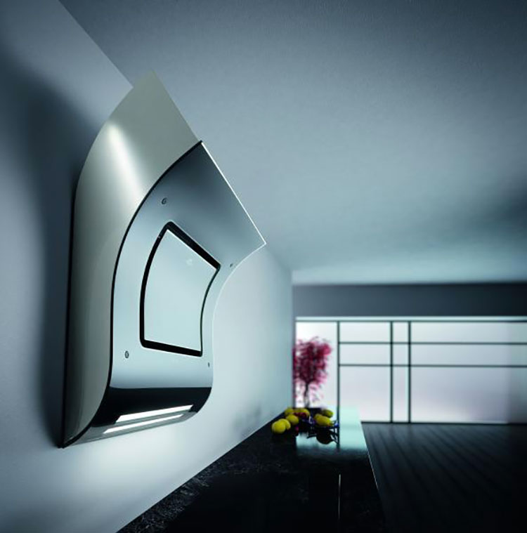 Modern kitchen hood model n.25