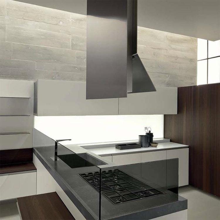 Ceiling kitchen hood model n.03