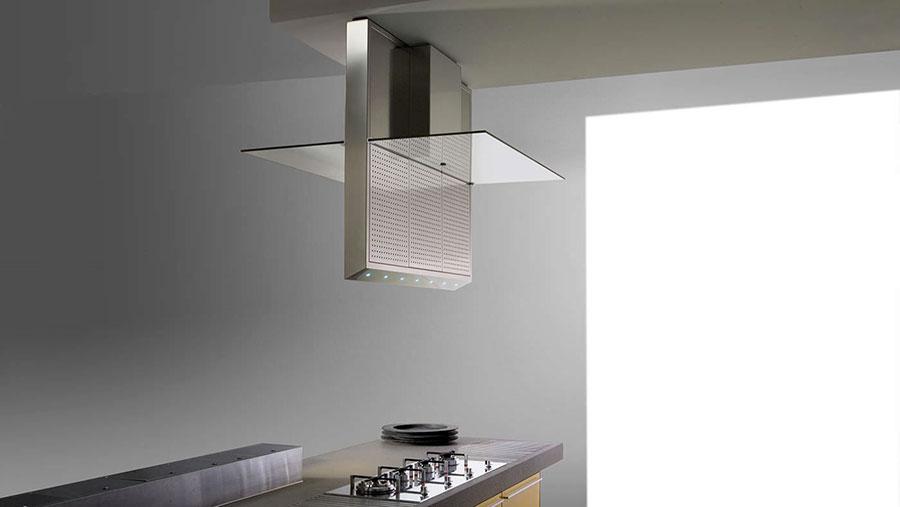 Ceiling kitchen hood model n.01