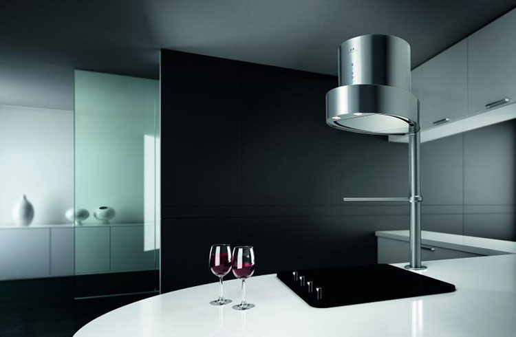 Modern kitchen hood model n.28