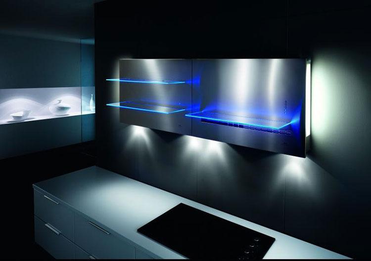 Modern kitchen hood model n.29