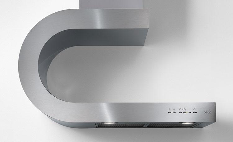 Modern kitchen hood model n.14